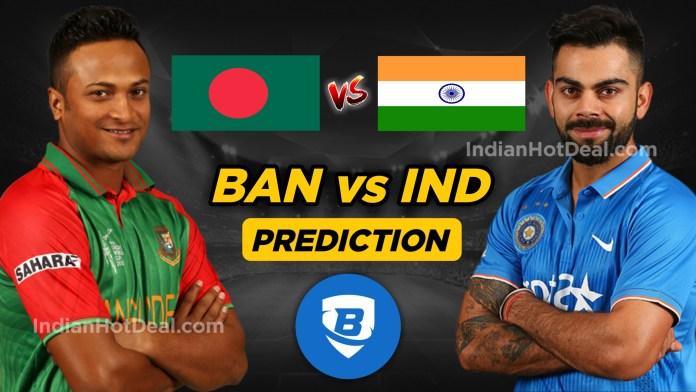 ICC WC 2019, 40th Match: IND vs BAN Ballebaazi Team Prediction Today