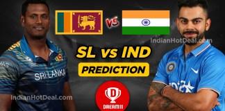 IND vs SL Dream11 Team Prediction Today, ICC WC 2019, 44th Match