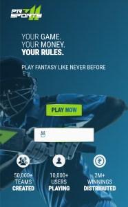ProSports11 Fantasy Cricket App List Download