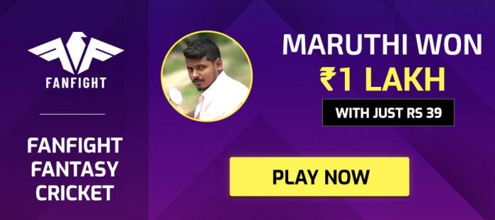 Download Fanfight Apk App & Earn Free Rs.100 Cash Bonus