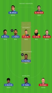 ENG vs PAK Dream11 Team for grand league