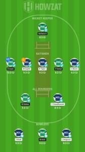 Pakistan vs New Zealand Howzat Fantasy Team!
