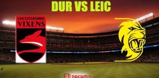 DUR vs LEIC Dream11 Team Prediction, English T20 Blast 2019