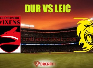 DUR vs LEIC Dream11 Team Prediction, English T20 Blast 2019