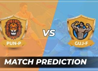 PUN vs GUJ Dream11 Team Prediction Today - VIVO Pro Kabaddi League