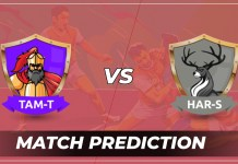 TAM vs HAR Dream11 Team Prediction Today - VIVO Pro Kabaddi League