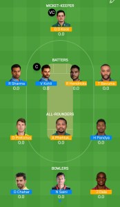 IND vs SA 2nd t20 Myteam11 Fantasy Team For Today's Match