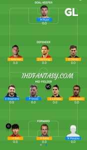 TOT vs BHA Dream11 (GL) Team