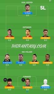 TOT vs BHA Dream11 (SL) Team