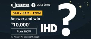 amazon quiz 9th jan 2020