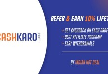 cashkaro affiliate program