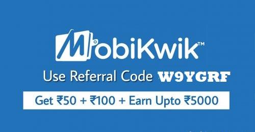 mobikwik referral code