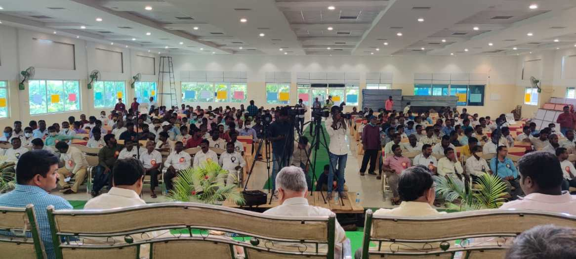 Regional conference of TUWJ at Wanaparthy