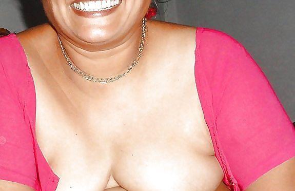 indian milf's big boobs