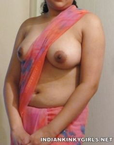 Indian Wife Topless Exposing Big Milky Boobs