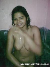 Desi Wife Naked Doing Blowjob Showing Tits