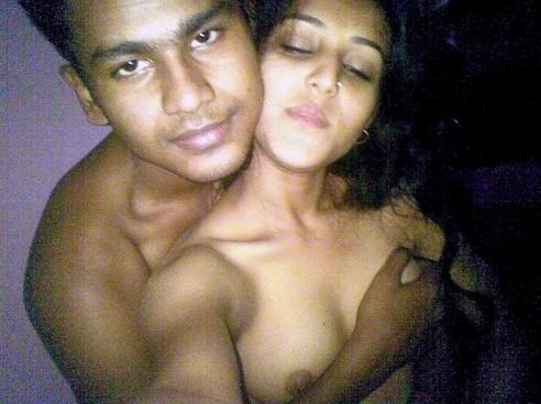 College Lovers Nude Enjoying Taking Selfies After Sex
