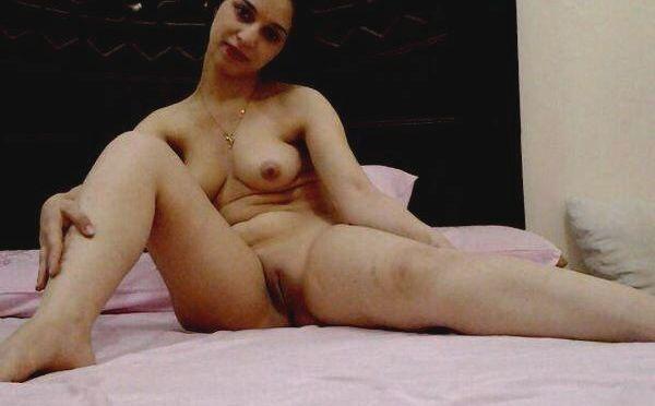 Naughty Newly Married Wife Nude Teasing Husband