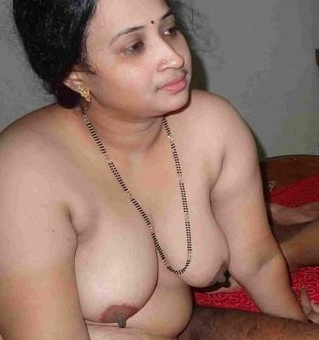 Mangalsutra Wearing Indian Wife Extramarital Affair Photos