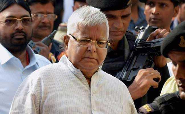 Lalu Yadav Sentenced to 3.5 Years in Jail in Fodder Scam Case