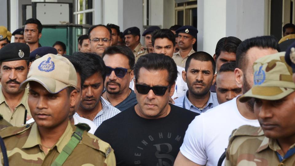 Salman Khan blackbuck case verdict: gets 5 years jail, Rs 10,000 fine imposed.