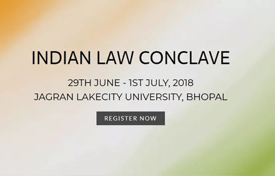 Call For Applications – Indian Law Conclave Awards 2018 – Apply By 31 May