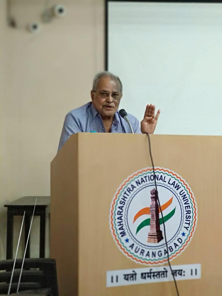 Guest Lecture @MNLU by Prof. (Dr) A. Lakshinath