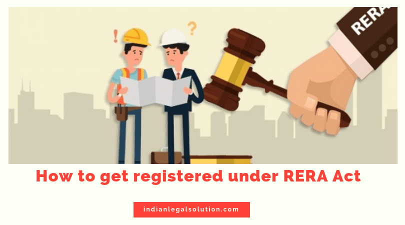 How to get a project registered under RERA Act ?