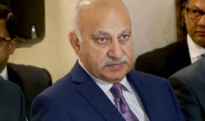 Union minister MJ Akbar resigns over #MeToo allegations.
