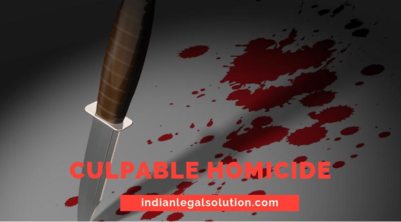 define culpable homicide
