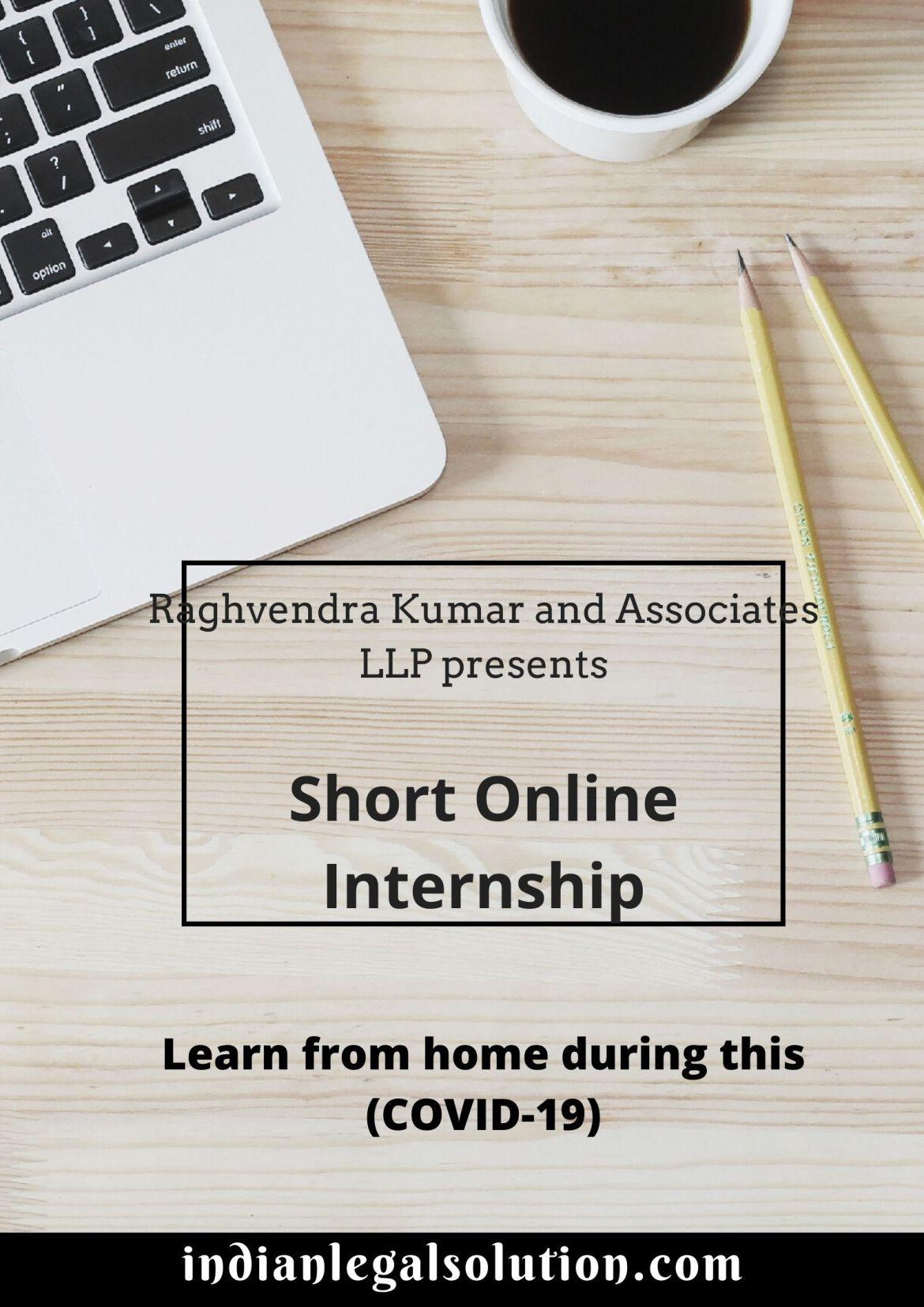Short online internship opportunity with us.