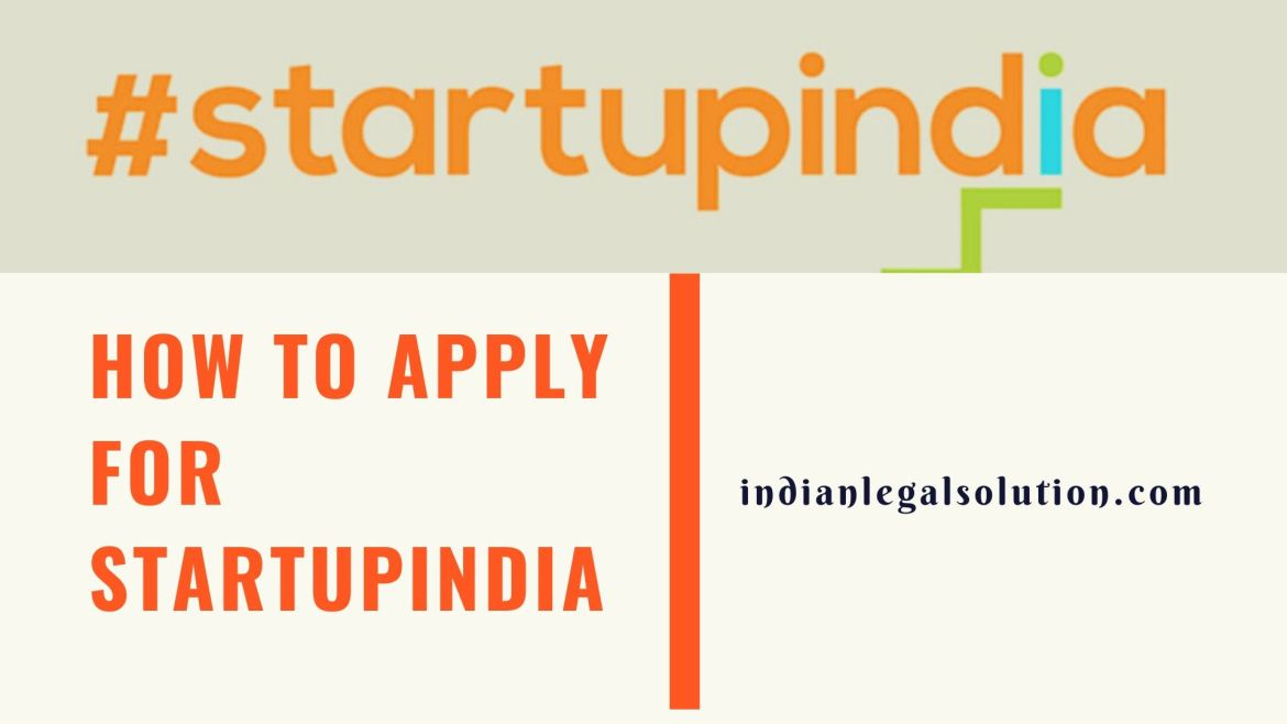 How to apply for StartupIndia