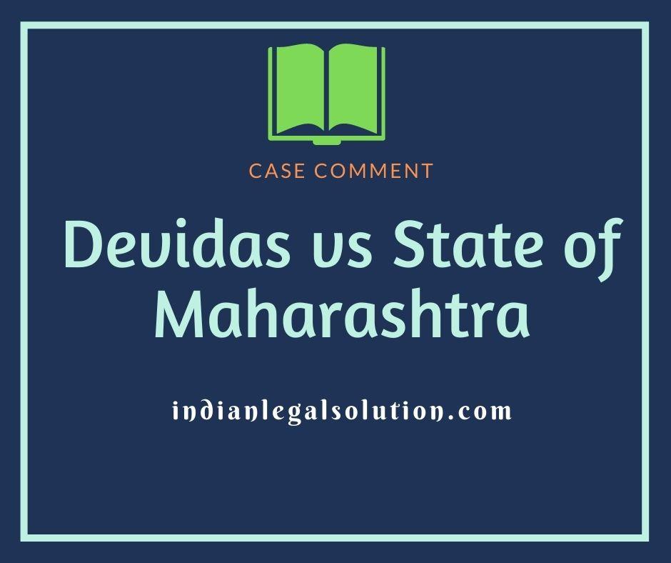 Devidas vs State of Maharashtra