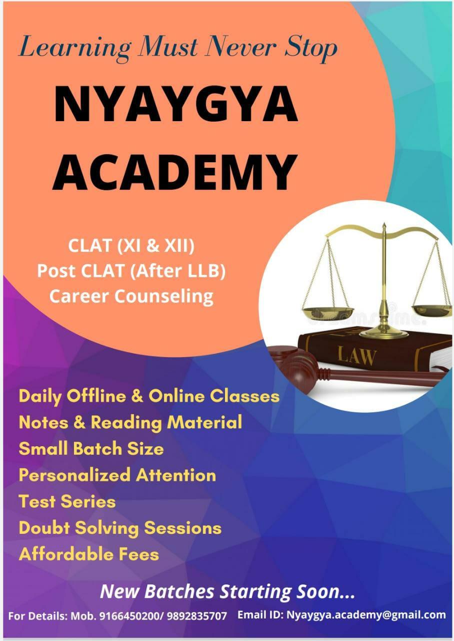 Nyayga Academy, Indore