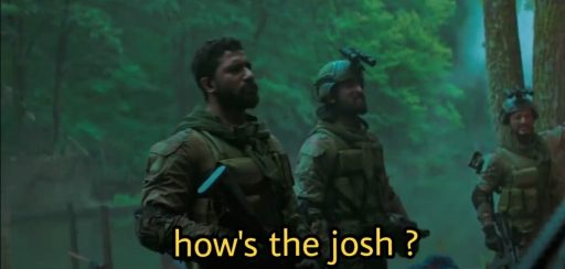 Vicky Kaushal as Major Vihaan Singh Shergill in the movie Uri The surgical strike dialogue hows the josh