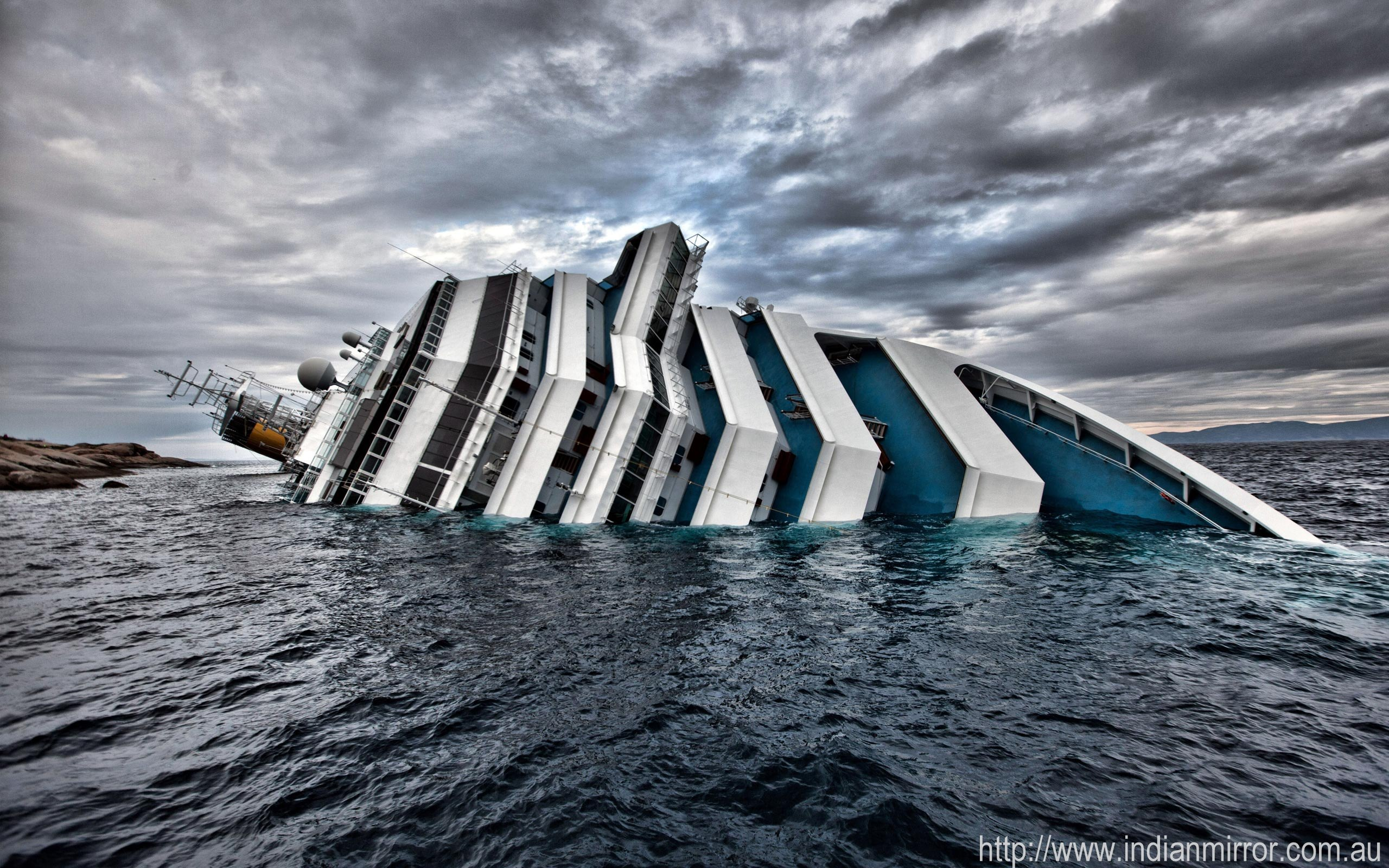 Inside Cruise Ship Sinking