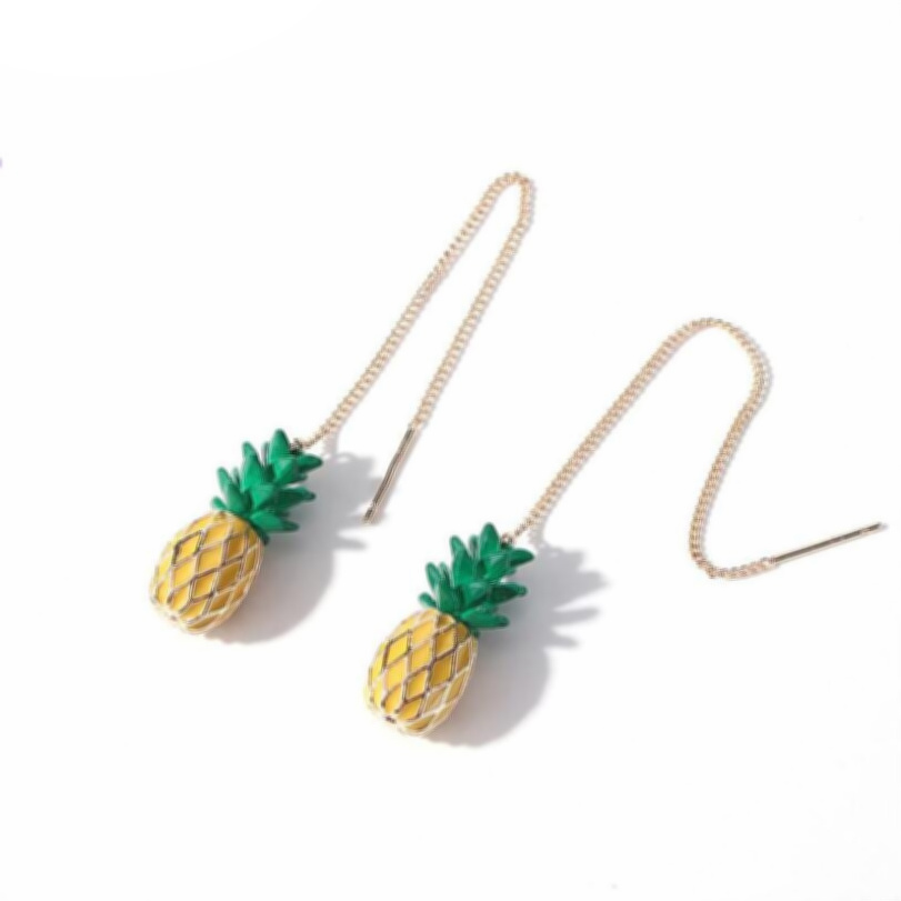 a1e6dceda Pineapple of My Eye Earrings - Indiannie Jewelry