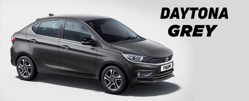 Tata Tigor 2020 Colors - Daytona Grey