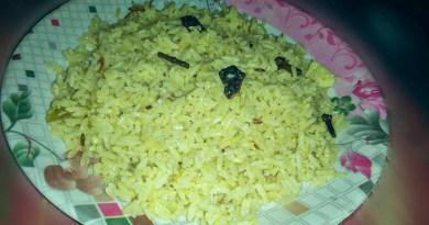 Zeera rice recipe