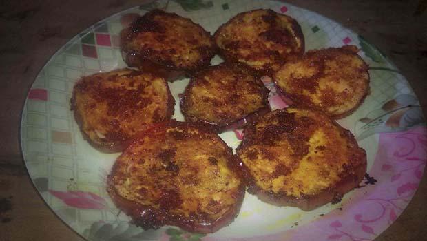Baingan fry recipe