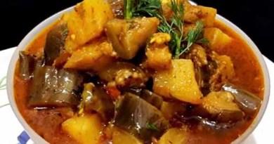 Aloo baingan ki sabji recipe in hindi