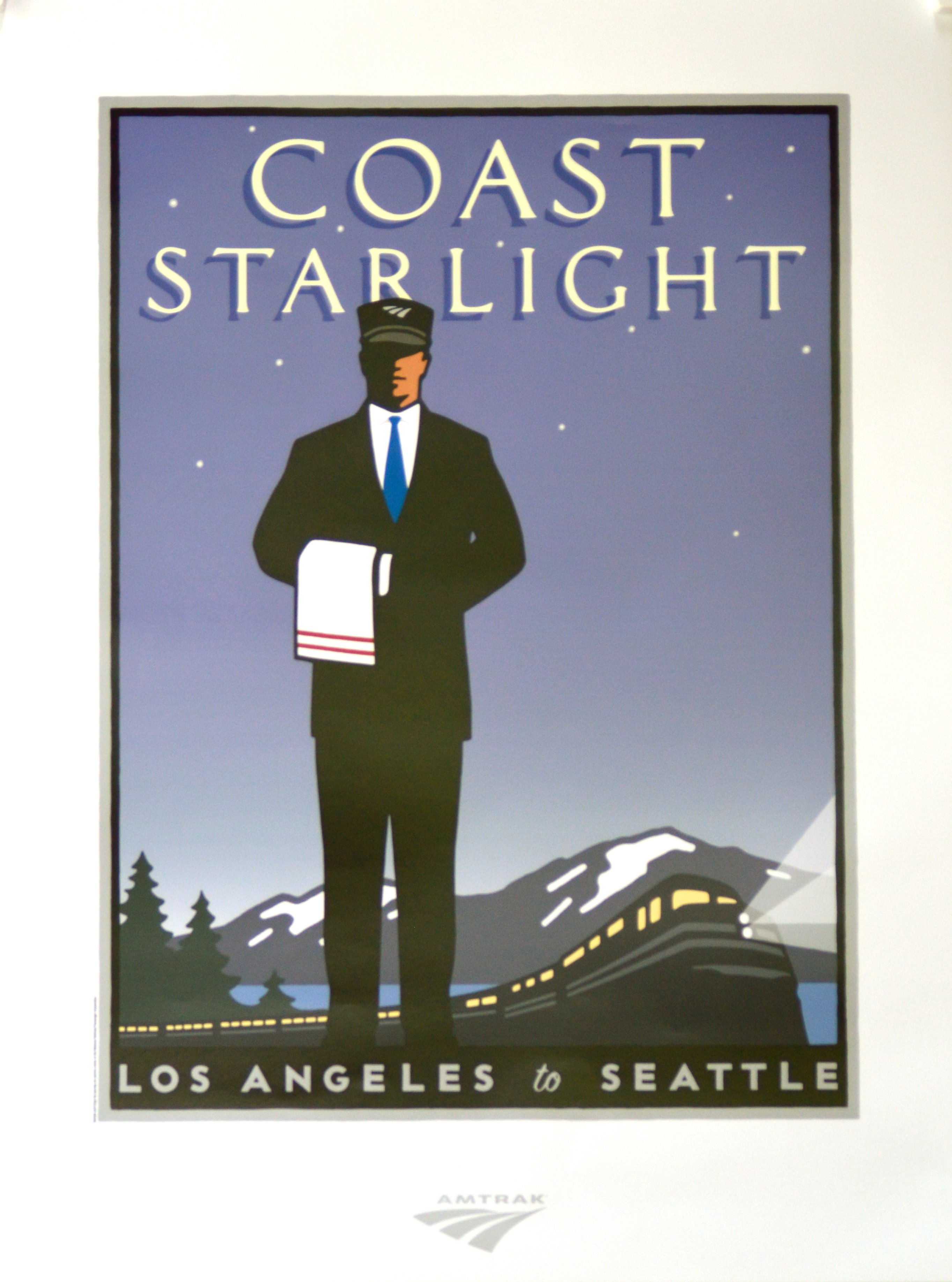 Amtrak  Indian River Poster Company