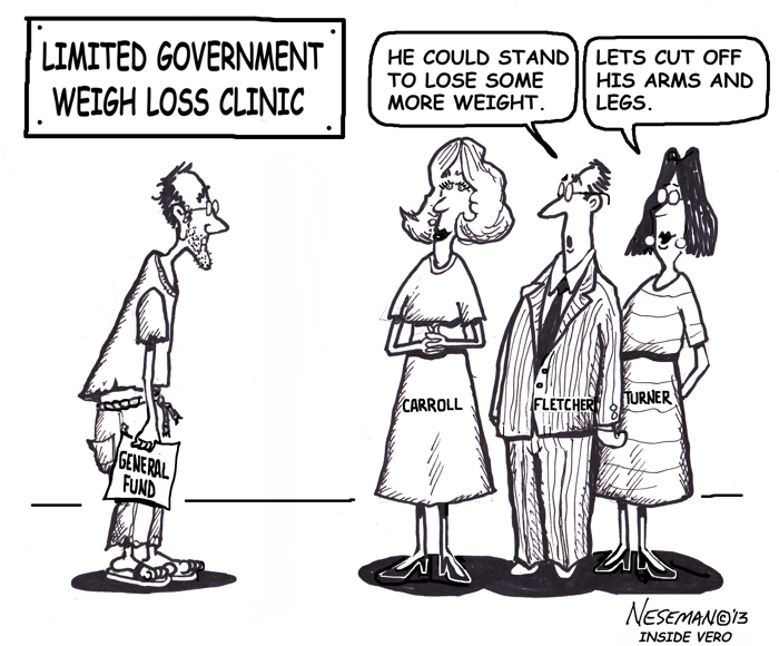 InsideVero Cartoon: Limited government weight loss clinic