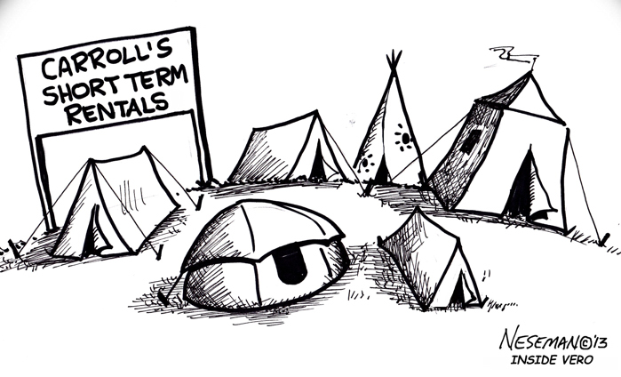 """Cartoon: What's next, """"boutique"""" campgrounds? « InsideVero"""