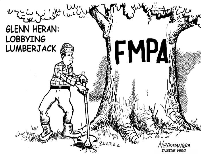 Cartoon: The Lobbying Lumberjack