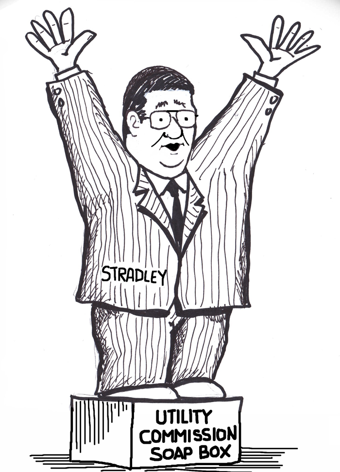 Cartoon: Utility Commission to hold pro-sale pep rally
