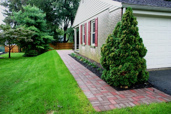 indian run landscaping paver