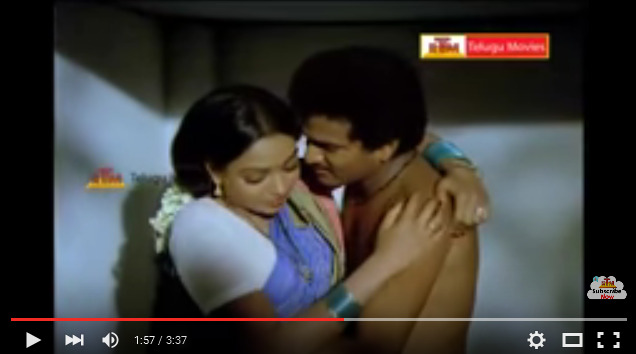 RajendraPrasad & Aruna Bathroom Scene - Samsaram Oka Chadarangam Movie - YouTube 2016-03-21 00-55-22