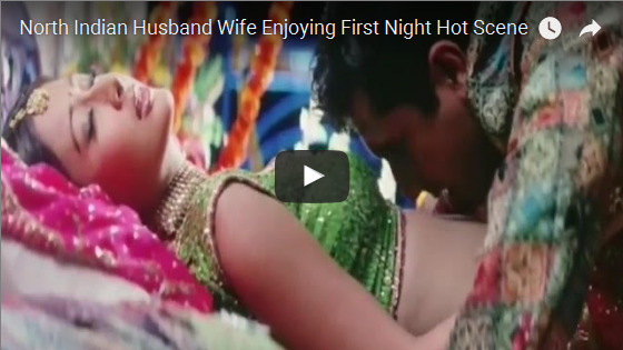 North Indian Husband Wife Enjoying First Night Hot Scene Indian Sex Video