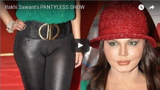 rakhi sawan nude panty show